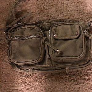 Handbags - Cross body Army Green purse